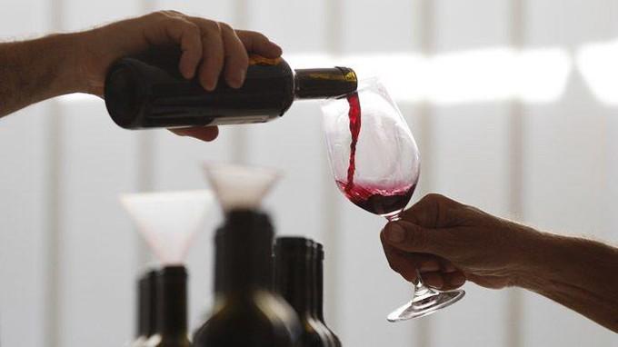 Service de vin