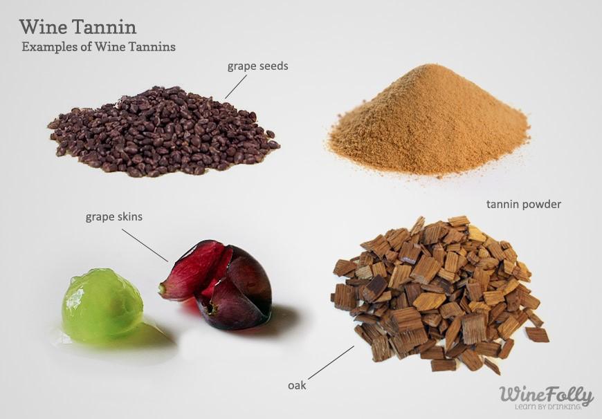 origines des tanins