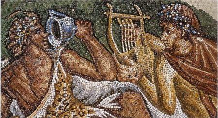 mosaïque rome antique