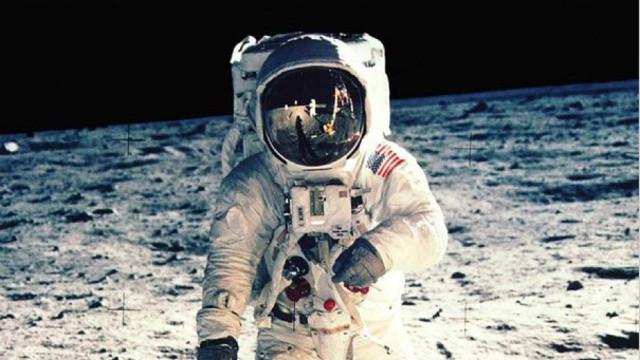 Homme sur la Lune