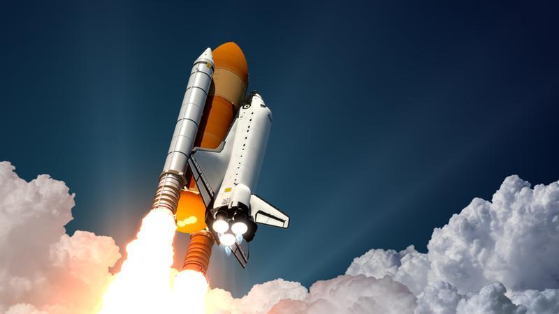 Space rocketship