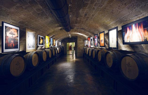 Musées sur le vin : Les caves du Louvre