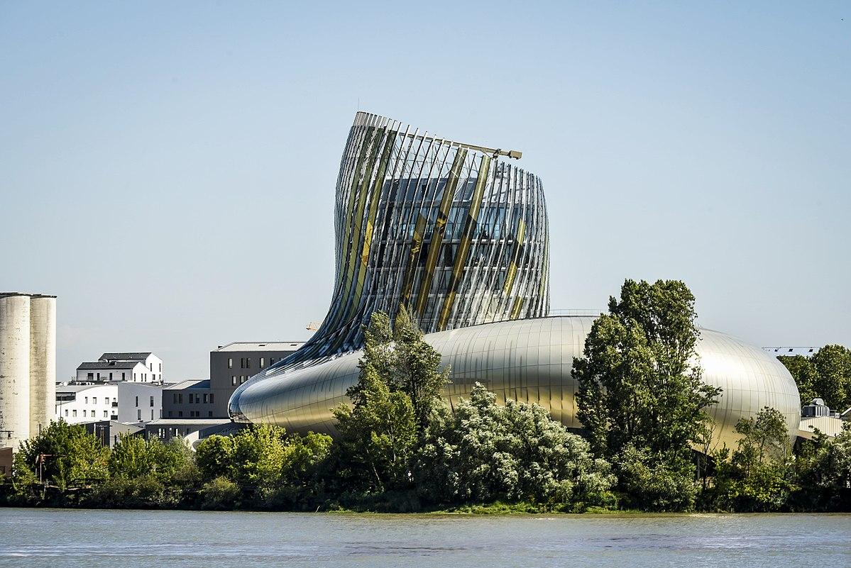 Musées sur le vin : Cité du Vin de Bordeaux
