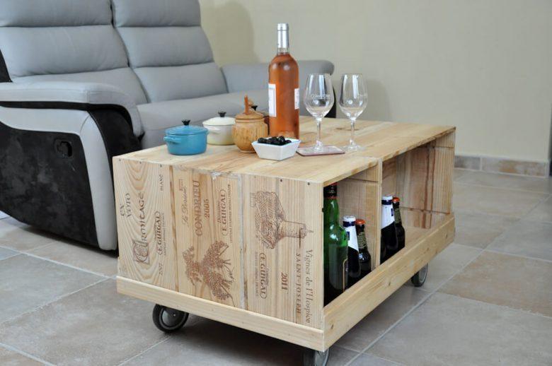 Wine crate