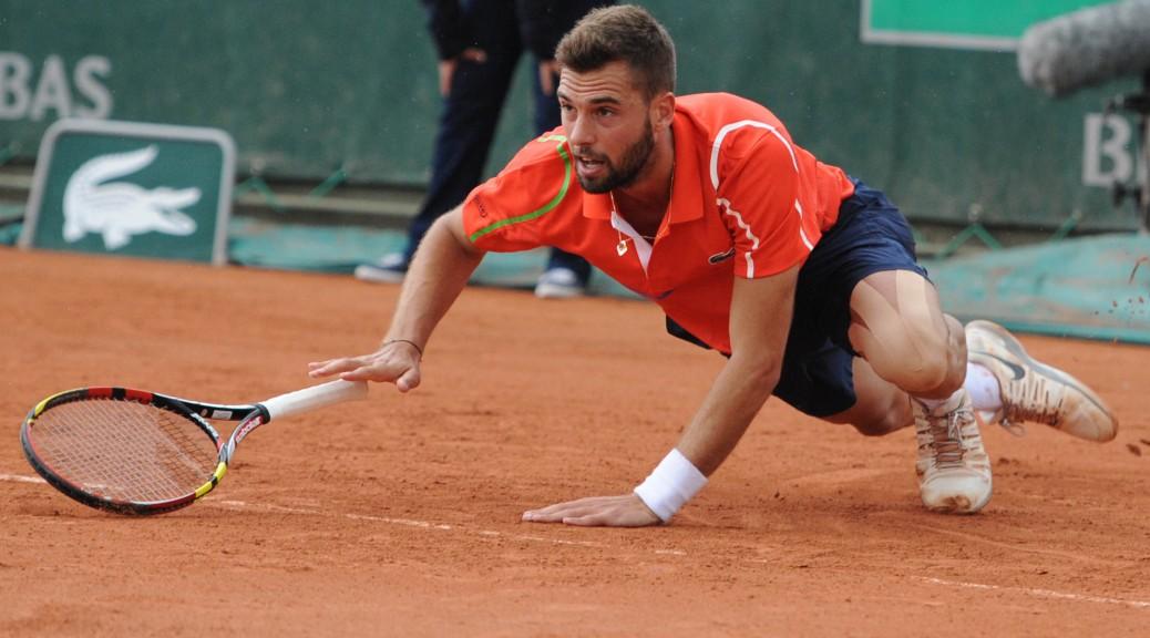 Benoit Paire à Roland-Garros