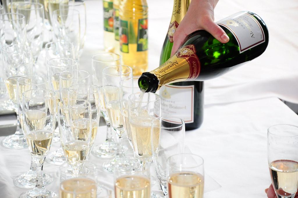 Aérer le Champagne
