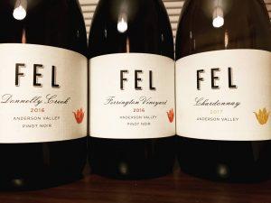 Pinot Noir: FEL Wines Pinot Noir 2016, Anderson Valley, California
