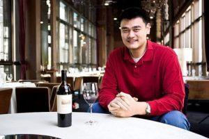 Yao Ming et son vin