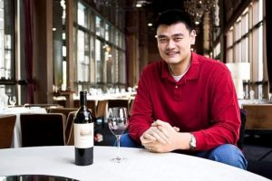Yao Ming and his wine