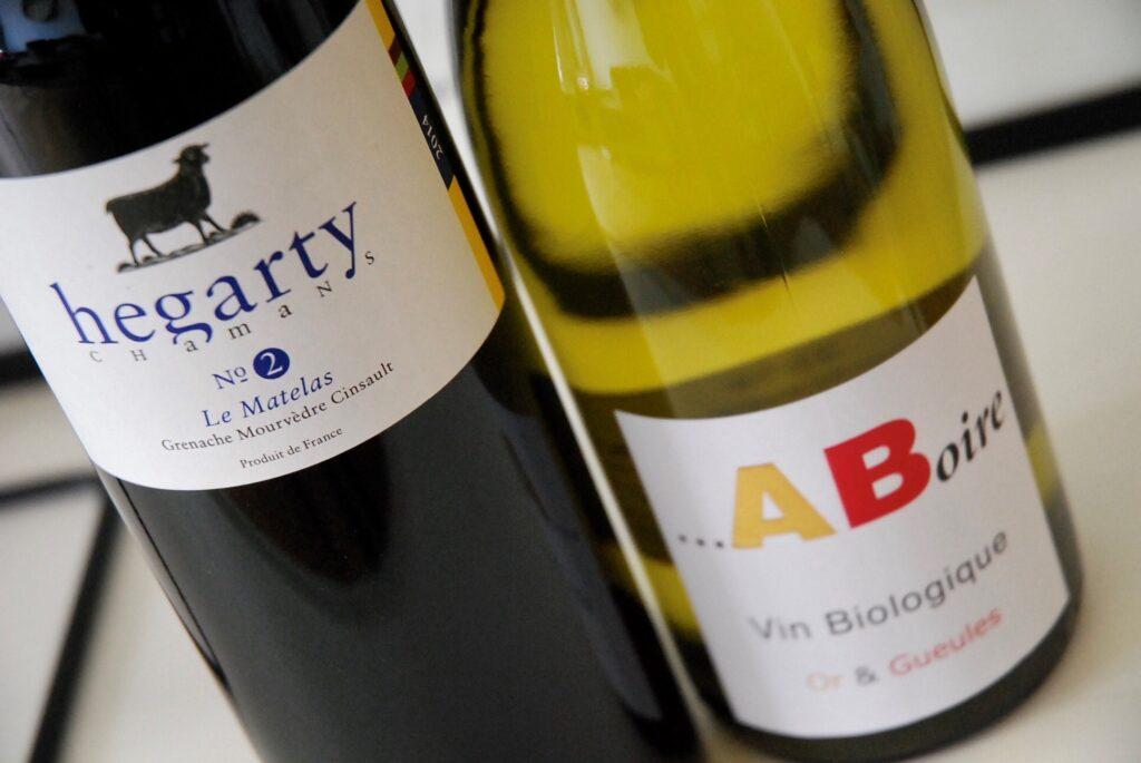 Photo des vins coup de cœur