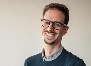Portrait de Hugo Jacob fondateur de 13°5