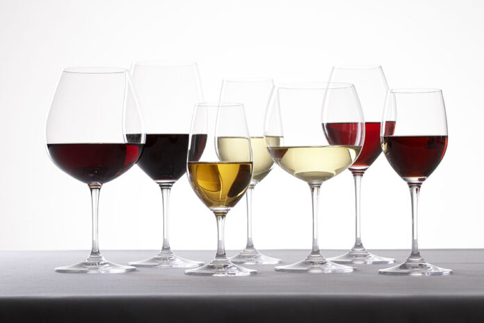Choose your wine glass AVEINE