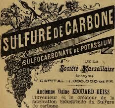 Sulfure de carbone