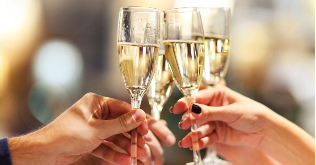 Party with sparkling wines!
