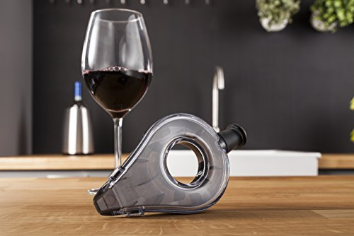 What is the purpose of a wine aerator ?