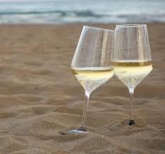 Aerate white wine