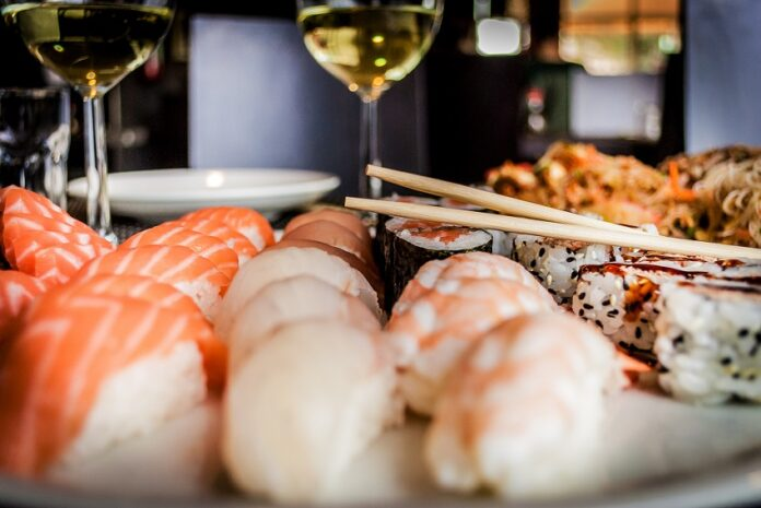 Which wines to drink with sushi