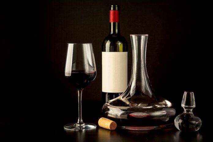Carafe vin rouge