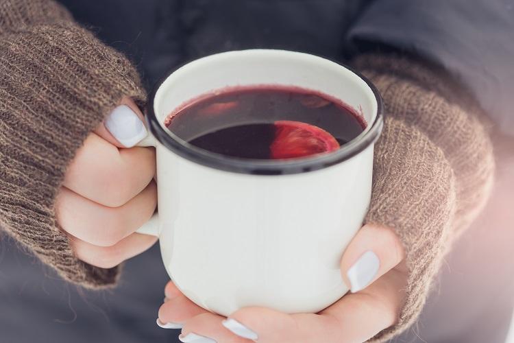 Tasse de vin chaud