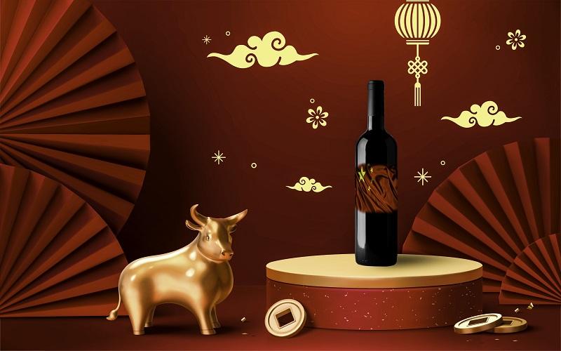 Le vin en Chine pour le Nouvel an chinois
