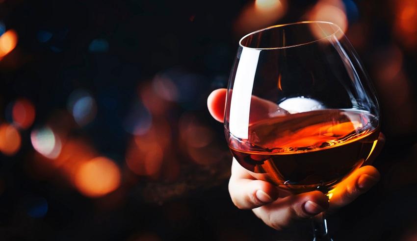 Aerate spirits: Cognac