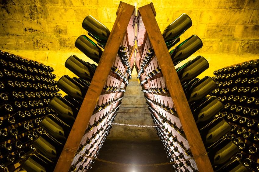 Tour de France régions viticoles - Cave Champagne