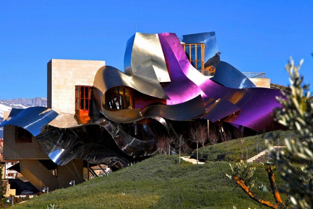 Beautiful vineyards: Marqués de Riscal