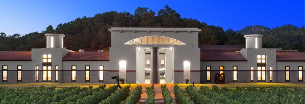 Beautiful vineyards: Clos Pegase Winery