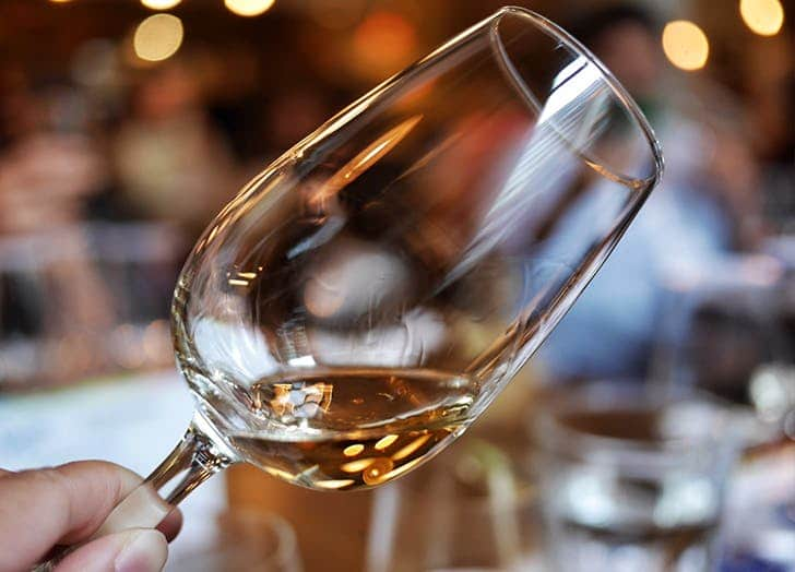 Rules about white wine